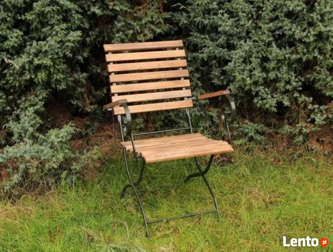 FOTEL ogrodowy śliczne KRZESŁO OGRODOWE - wiosenna kolekcja