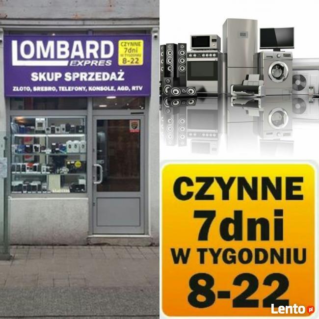 Lombard Expres//SKUP/SPRZEDAŻ //sprzętów RTV//PÓŁWIEJSKA 22