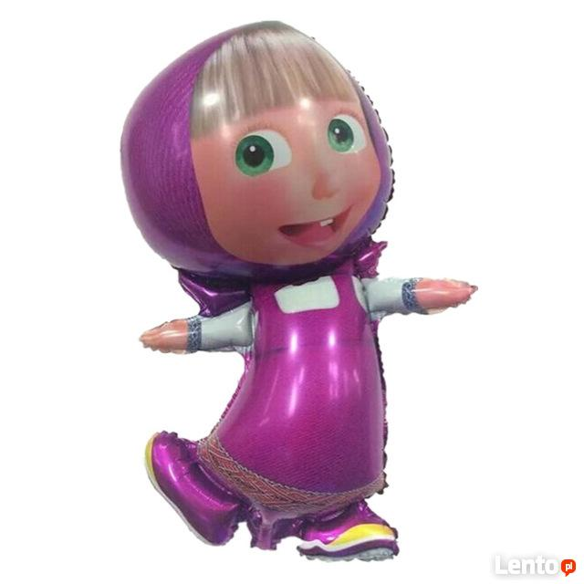 Balony gumowe foliowe cyfry postacie z bajek urodziny dzieck