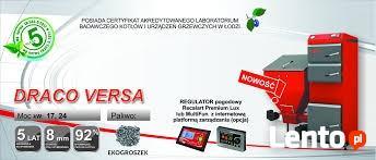 Kocioł Tekla DRACO VERSA 17 KW ( do 170 m2 ) 5 Klasa emisji