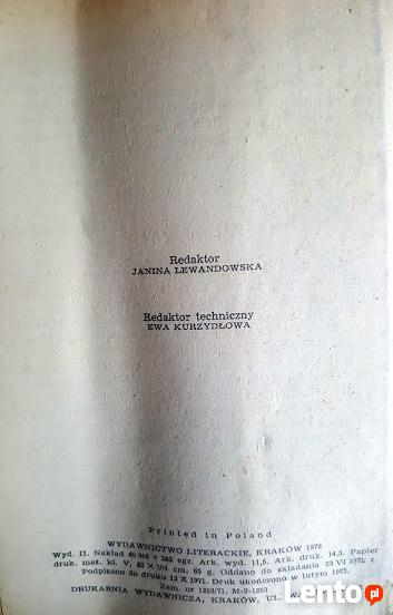 Stare wydanie, Odszczepieniec