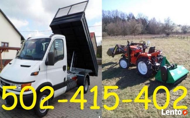 Mini-Traktor->PORZĄDKI OGRODU-Glebogryzarka,Koszenie,Kraków