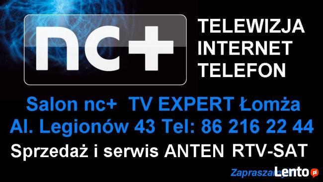 Salon nc+ - Telewizja internet telefon