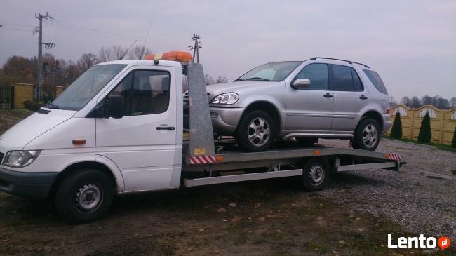 Pomoc drogowa 24h/7 Holowanie Transport aut kraj i zagranica
