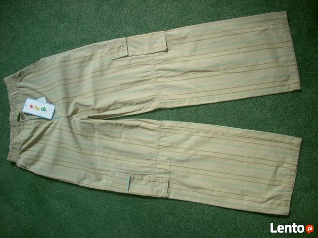 5 10 15 Spodnie NOWE chłopięce rozm. 158 bawełna