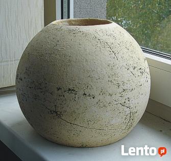 Ceramiczna kula ogrodowa 29 cm. mrozoodporna.