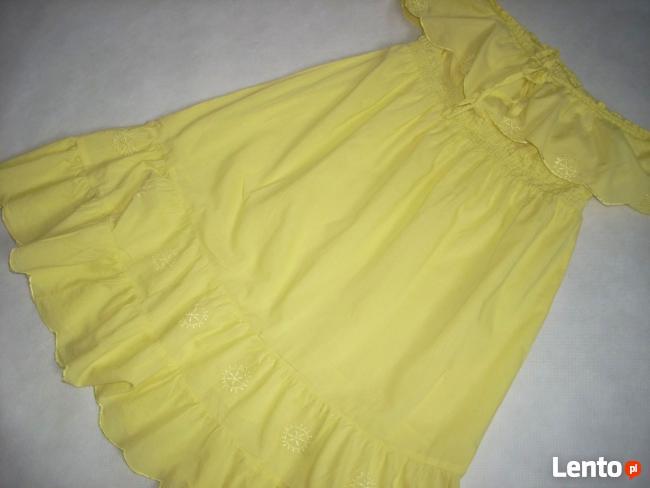 Sukienka letnia Falbany Bawełna J Nowa 40 42 L XL
