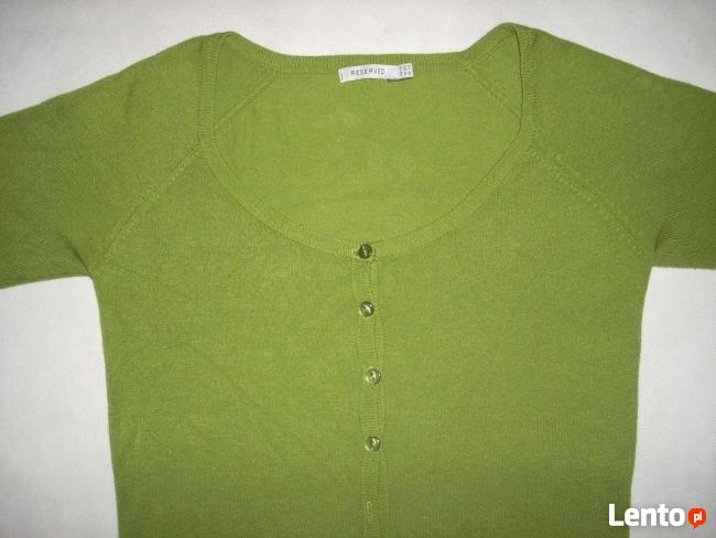 Reserved Sweterek zapinany j Nowy 36 S