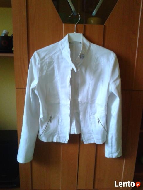 kurtka biała S
