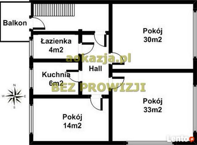 3 pokojowe do zamieszkania 98m2, okol. Królewska, Dębica
