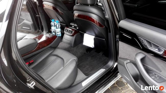AUTO DO ŚLUBU AUDI A8 V8 Long. Najwyższy Luksus.