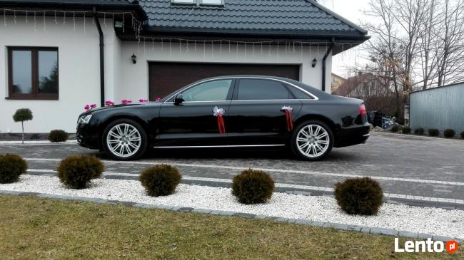 AUTO DO ŚLUBU AUDI A8 V8 wersja przedłużana Long.