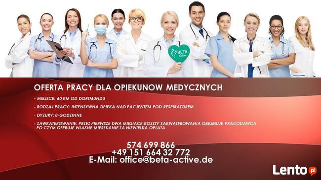 Praca w Niemczech – opiekun medyczny