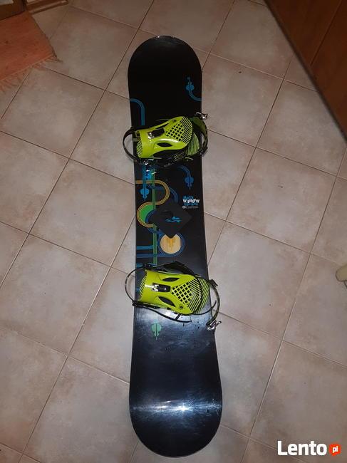 Sprzedam deskę snowboardową Burton Mayhem + wiązania