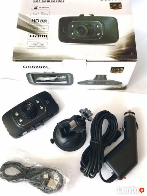 Kamera Samochodowa Kolorowa Rejestrator jazdy