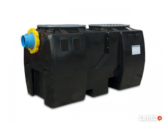 Separator ropopochodnych z osadnikiem OIL SI 1,5-25 l/s