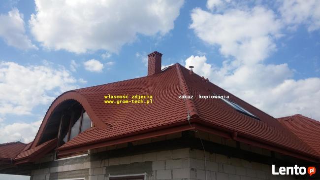 Instalacje odgromowe wadowice piorunochrony chrzanów montaż