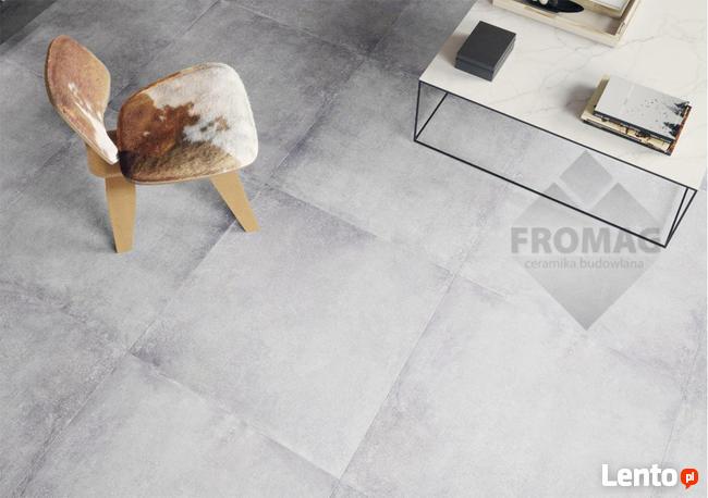 Płytki podłogowe gres j. beton 80x80 montego antracyt cerrad