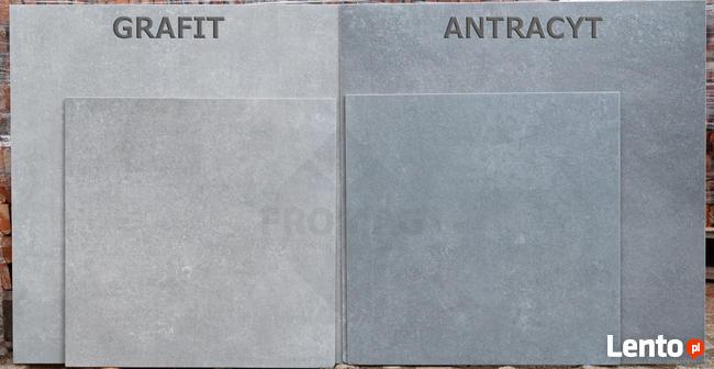 Płytki gresowe jak beton Montego Antracyt 80x80