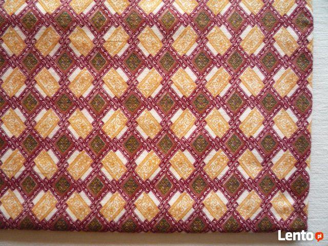 Materiał 295cm x 90cm tkanina kupon flanela bawełna Kupon