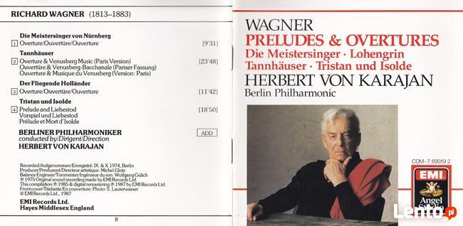 CD Wagner Ouverturen-Karajan