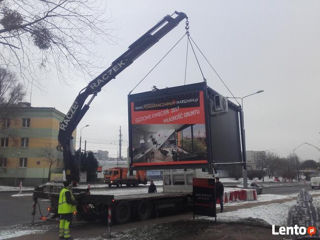 Usługi transportowe HDS Warszawa RACZEK
