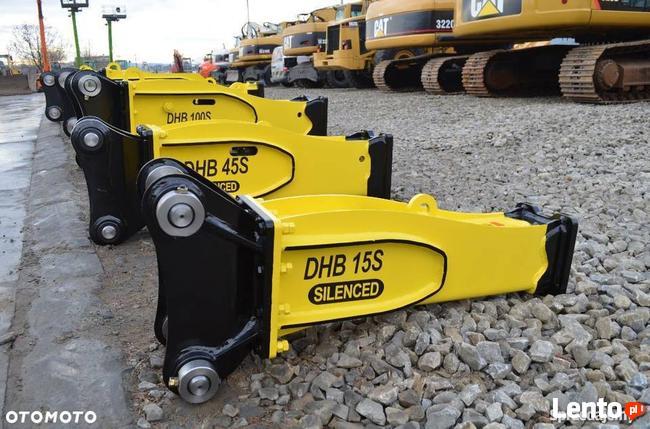 Młot hydrauliczny DHB 15S 155kg do maszyn 1,8-5,5 ton