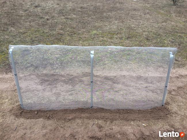 płotki naprowadzające płazy z siatki stalowej