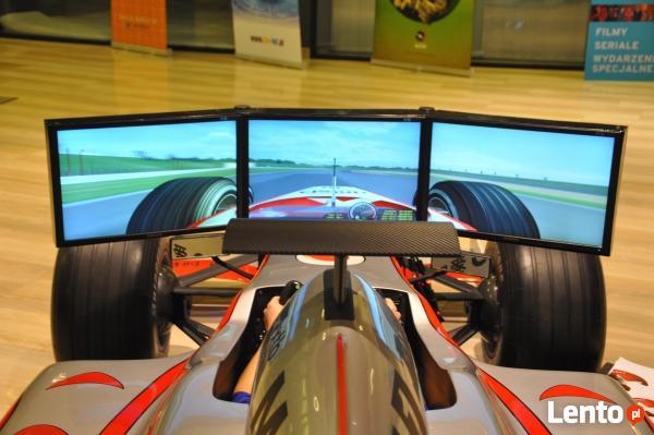 Symulator F1 VR, lotu i symulatory rajdowe, wynajem gogli vr