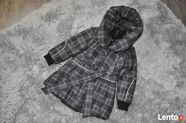 Płaszcz dziewczęcy rozmiar 116