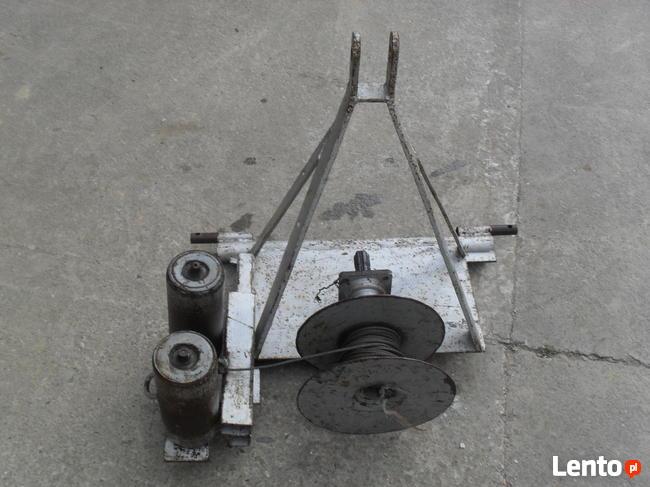 Wyciągarka z linka na wałek do ciągnika