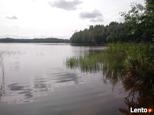 Działka rekreacyjna nad jeziorem, Brzeźno, koło Szczecinka
