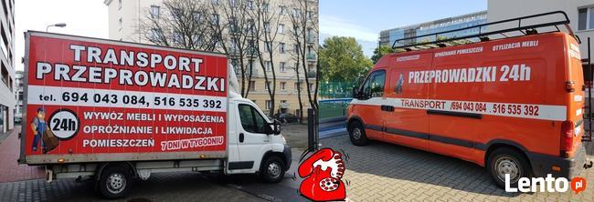 Kompleksowe Przeprowadzki domów, mieszkań Warszawa i okolice