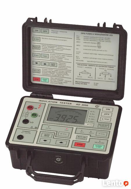 AD2050 Miernik rezystancji izolacji 5kV ADEX
