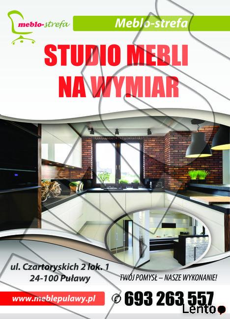 MEBLO-STREFA MEBLE NA WYMIAR : kuchnie, szafy, zabudowy...