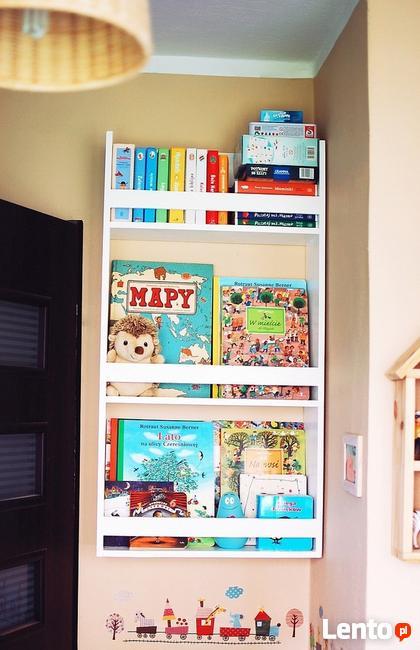 Biblioteczka Drewniana Dla Dzieci