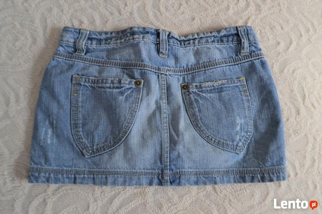 Jeansowa spódniczka mini   S