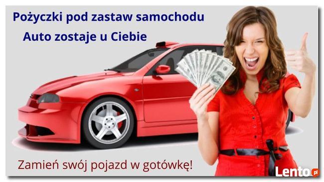 Pożyczka pod zastaw auta, samochód zostaje u ciebie