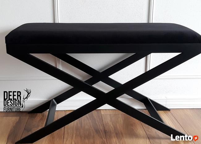 Siedzisko Ławka do przedpokoju tapicerowana