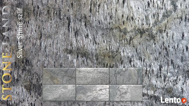 Kamień ozdobny Silver Shine szlifowany, do łazienki