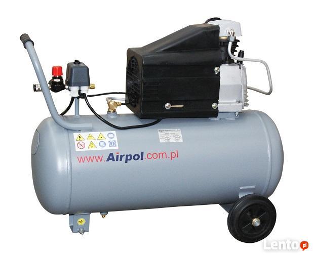 NOWOŚĆ!!! Kompresor tłokowy AIRPOL - Com-R1-50 1,8 kW 8 bar