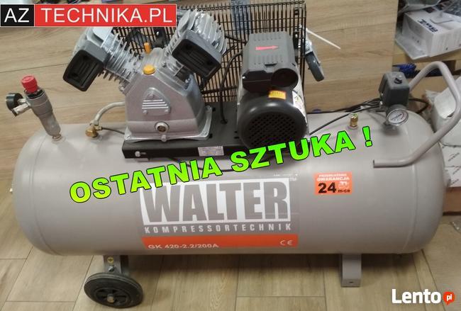 Kompresor tłokowy WALTER GK 420-2,2/200