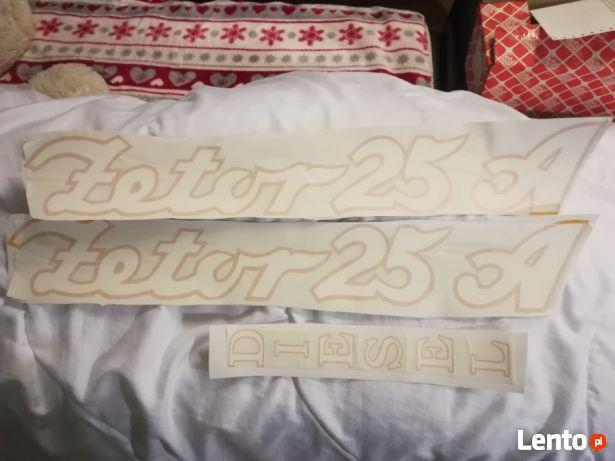 naklejka szyld emblemat Zetor 25 K, Zetor 25 A