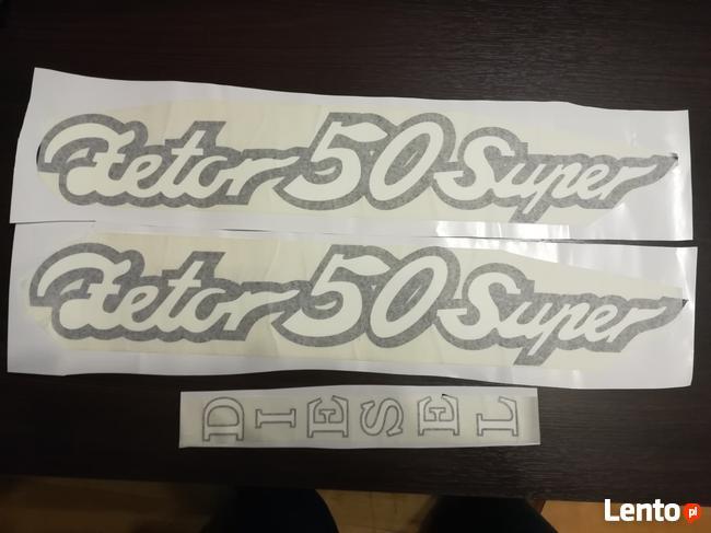 napis naklejka Zetor 50 Super nowe wzory