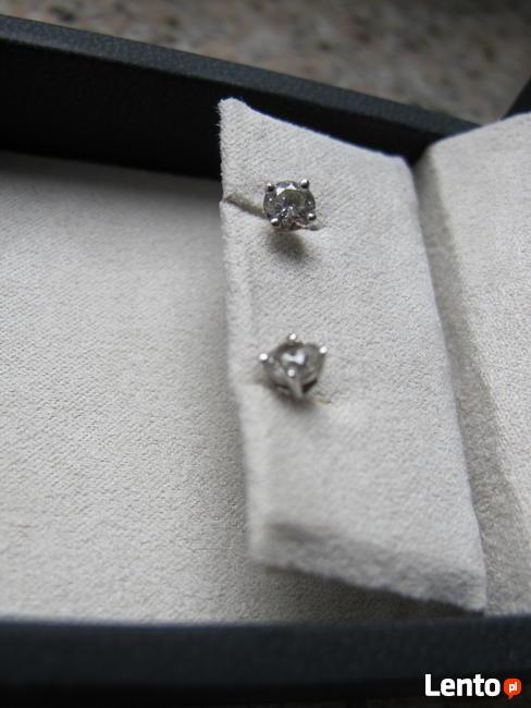 Kolczyki diamentowe 0.75CT