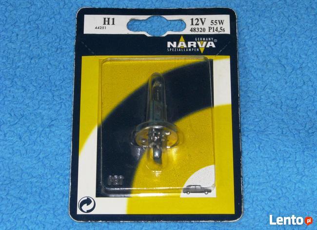 Żarówka H1 12V 55W samochodowa halogenowa NARVA