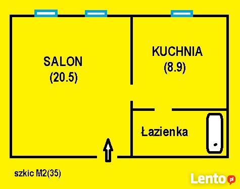 Zamienię M2 z c.o. na duże M3 lub M4 - komunalne