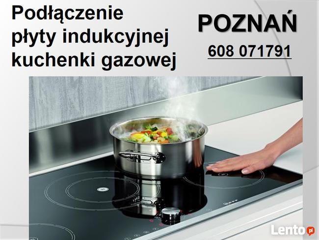Indukcyjne podłączenie płyty kuchennej