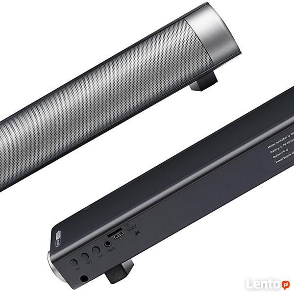 Soundbar Mocny Bass do TV, Komputera, Laptopa, Tabletu itp.