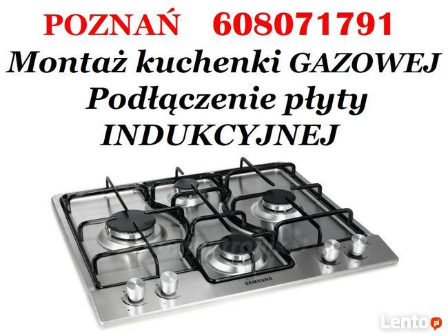 Modish Montaż Kuchenki Płyty Gazowej Indukcyjnej Poznań 100 zł Poznań GF91